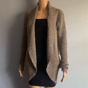 Sweaters - 📦 Tan/Brown Knit Cardigan